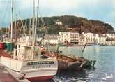 """29 Finistere / CPSM FRANCE 29 """"Audierne, le port de pêche"""" / BATEAU"""