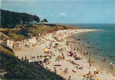 "/ CPSM FRANCE 29 ""Beg Meil, la grande plage des Dunes"""
