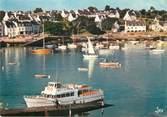 """29 Finistere / CPSM FRANCE 29 """"Bénodet, Sainte Marine, le port à l'embouchure de l'Odet"""""""
