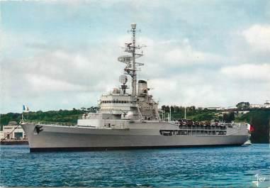 """/ CPSM FRANCE 29 """"Brest, le porte hélicoptère Jeanne D'Arc"""""""