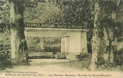 """CPA FRANCE 66 """"Amélie les Bains, buvette du Grand Monjolet"""""""