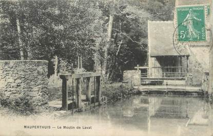 """/ CPA FRANCE 77 """"Mauperthuis, le moulin de Laval"""""""
