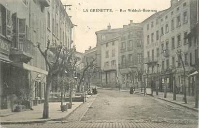 cpa france 42 rive de gier la grenette rue waldeck rousseau 42 loire rive de gier 42. Black Bedroom Furniture Sets. Home Design Ideas