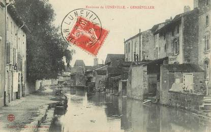 "CPA FRANCE 54 ""Env. de Lunéville, Gerbéviller"""