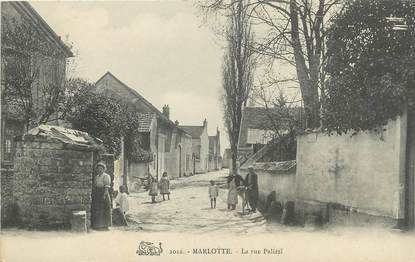 "/ CPA FRANCE 77 ""Marlotte, la rue Palizzi"""