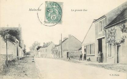 """/ CPA FRANCE 77 """"Malnoue, la grande rue"""""""
