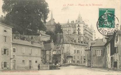 """CPA FRANCE 64 """"Pau, place de la Monnaie"""""""