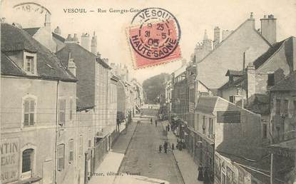 "CPA FRANCE 70 ""Vesoul, rue Georges Genoux"""