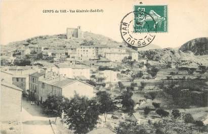 """CPA FRANCE 83 """"Comps  du Var, vue générale"""""""