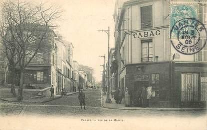 """CPA FRANCE 92 """"Vanves, rue de la Mairie"""""""