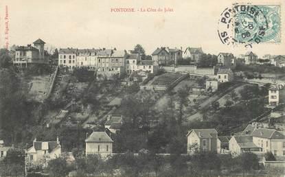 """CPA FRANCE 95 """"Pontoise, la Côte du Jalet"""""""