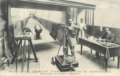 """CPA  FRANCE 42 """"Saint Etienne, manufacture d'armes et  de cycles """""""