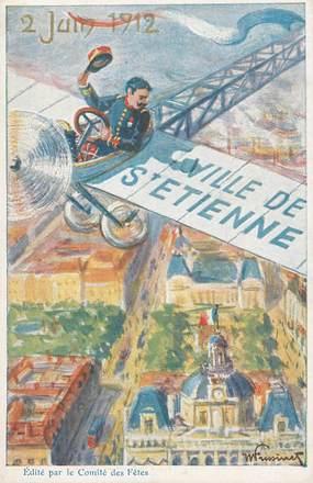 """CPA  FRANCE 42 """"Saint Etienne """""""