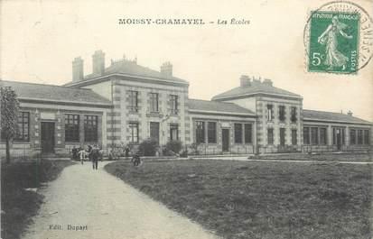 """/ CPA FRANCE 77 """"Moissy Cramayel, les écoles """""""