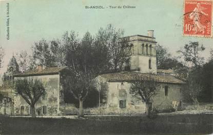 """CPA  FRANCE 13 """"Saint Andiol, tour du chateau"""""""