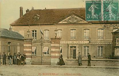 """/ CPA FRANCE 77 """"Montereau, l'hôtel de ville """""""