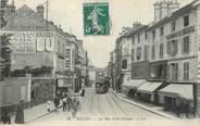 "77 Seine Et Marne / CPA FRANCE 77 ""Melun, la rue Saint Etienne""  / TRAMWAY"