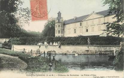 """/ CPA FRANCE 77 """"Ozoir la Ferrière,château de Romaine"""""""
