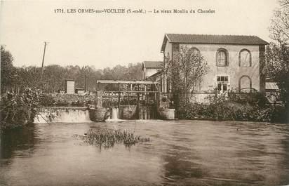 """/ CPA FRANCE 77 """"Les Ormes sur Voulzie, le vieux moulin du Chatelot"""""""