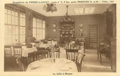 """/ CPA FRANCE 77 """"Nemours, hostellerie de Pierre le Sault"""""""