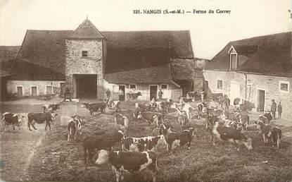 """/ CPA FRANCE 77 """"Nangis, ferme du Correy"""""""