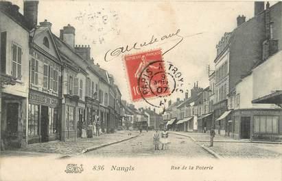 """/ CPA FRANCE 77 """"Nangis, rue de la  poterie"""""""