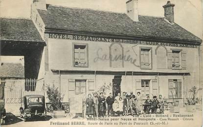 """/ CPA FRANCE 77 """"Pontault, hôtel Salon pour Noces et banquets"""""""