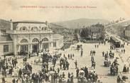 """88 Vosge CPA FRANCE 88 """"Gérardmer, la gare de l'Est et le départ du tramway"""""""