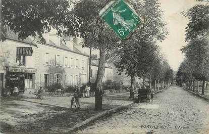 "/ CPA FRANCE 77 ""Ponthierry, l'avenue"""