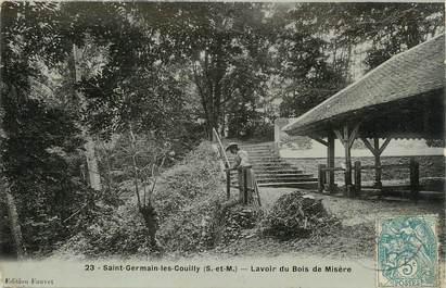 """/ CPA FRANCE 77 """"Saint Germain les Couilly, lavoir du bois de Misère"""""""