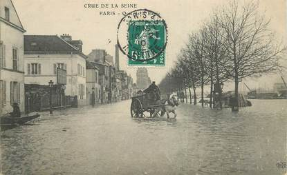 "CPA FRANCE 75012 ""Paris, Quai de la Rapée"""