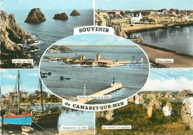 """/ CPSM FRANCE 29 """"Souvenir de Camaret sur Mer """""""