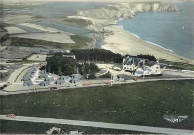 """/ CPSM FRANCE 29 """"Camaret sur Mer, maison familiale et plage du Véryhac'h"""""""