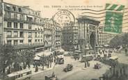 """75 Pari CPA FRANCE 75002 """"Paris, le boulevard et la porte Saint Denis"""""""