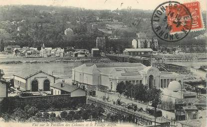 """CPA FRANCE 69 """"Lyon, Exposition internationale 1914"""""""