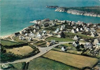 """/ CPSM FRANCE 29 """"Le Conquet, vue générale aérienne sur la pointe Sainte Barbe"""""""