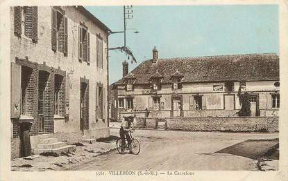 """/ CPA FRANCE 77 """"Villebéon, le carrefour"""""""