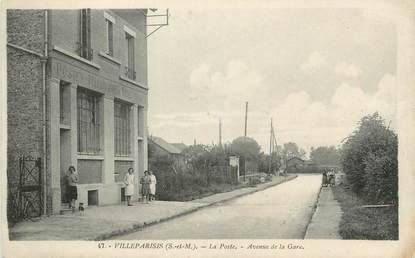 """/ CPA FRANCE 77 """"Villeparisis, la poste"""""""