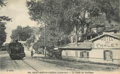 """/ CPA FRANCE 44 """"Saint Brévin l'Océan, la Halle du Pointeau"""""""