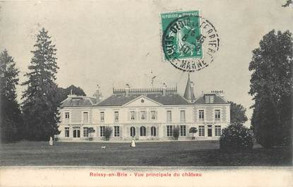"CPA FRANCE 77 ""Roissy en Brie, le chateau"""