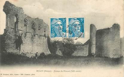 "CPA FRANCE 58 ""Bulcy, ruines du prieuré"""