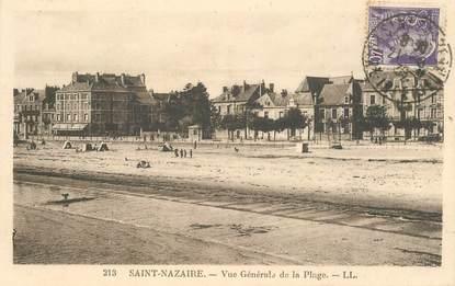 """CPA FRANCE 44 """"Saint Nazaire, vue générale de la plage"""""""
