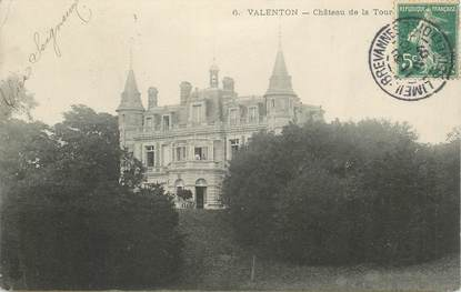 "CPA FRANCE 94 ""Valenton, chateau de la Tour"""