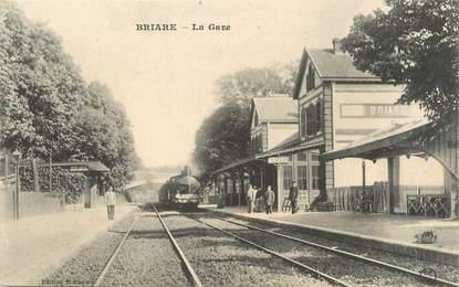 """/ CPA FRANCE 45 """"Briare, la gare"""""""