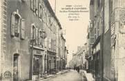 """48 Lozere / CPA FRANCE 48 """"Saint Chély d'Apcher, la rue Théophile Roussel"""""""