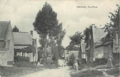 "/ CPA FRANCE 59 ""Vertain, rue haute"""