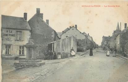 "/ CPA FRANCE 58 ""Suilly la Tour, la grande rue"""