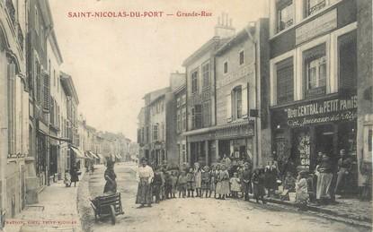"/ CPA FRANCE 54 ""Saint Nicolas du Port, grande rue"""