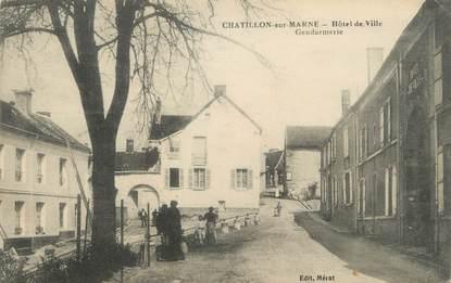 """/ CPA FRANCE 51 """"Châtillon sur Marne"""""""