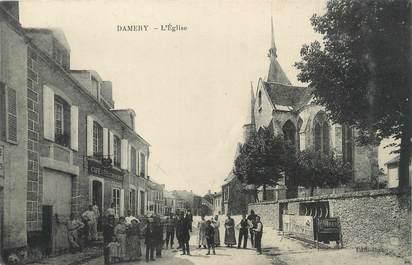 "/ CPA FRANCE 51 ""Damery, l'église"""